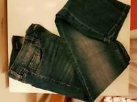 Skinny denim jeans size 10