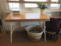 IKEA bamboo desk