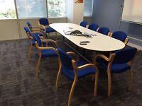 Senator meeting room table/boardroom table