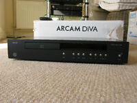 Hi Fi CD Player, Arcam CD73 in black complete with remote