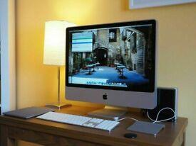"24"" Apple iMac 2.66Ghz Core2Duo 8GB 1TB SSD MS Office Logic Pro X Ableton Pro Tools Waves FM8"