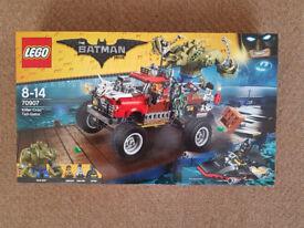 Lego 70907 The Batman Movie Killer Croc Tall-Gator - Brand New