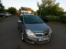 Vauxhall Zafira Diesel Automatic car..For Sale