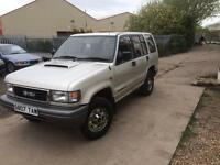 Isuzu Trooper 3.1 Manual