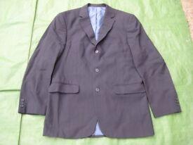 Marks and Spencer Dark Navy Blue Woolen Men's Jacket for £8.00