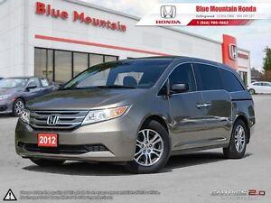 2012 Honda Odyssey EX-L w / RES (Rear Entertainment Sysytem)