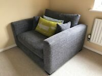 DFS - Dillon Snuggler Chair - New with extra cushions!!!