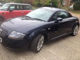 SUPERB AUDI TT COUPE 225 BHP,DOCUMENTED SERVICE HISTORY INC CAMBELT AND WATER PUMP/SERVICE