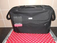 NEW WITH TAGS - PIERRE CARDIN FLIGHT/TRAVEL BAG