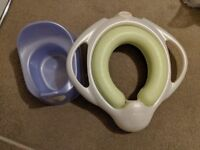 Mamas and papas toilet training seat and potty