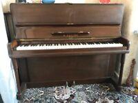B Squire Upright Piano