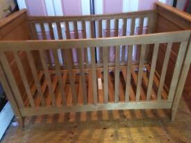 Mamas and papas cot bed.