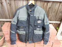 Armoured gortex motorcycle jackets. Buffalo make.