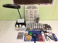 Plastic Scale Models and Craft Items