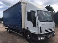 IVECO 75E17 CURTAIN SIDE BODY WITH TAIL LIFT 2006 JUST OUT OF TEST ALL IN GOOD ORDER £2750 NO VAT