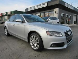 2012 Audi A4 2,0T QUATRO (Extra clean! AWD, Leather, Sunroof)