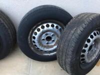 Volkswagen transporter t5 wheels