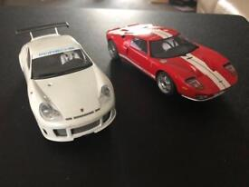Scalextric top gear cars