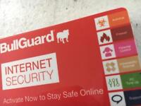 16 x Bullguard internet security licenses/cards - 1 Year, 3 PC's - AV, Firewall etc