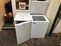Chest freezer and small fridge