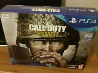 Ps4 ww2 bundle. 1 day old.