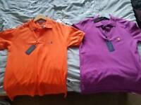 Brand New Men's medium Ralph Lauren polo shirts