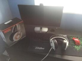 Pc gaming i7 , 256 ssd and 3 TB HDD , 16GB RAM,and monitor AOC...