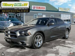 2011 Dodge Charger 4dr Sdn Rallye Plus RWD *Red Leather Interior