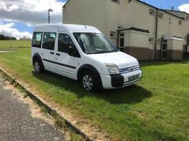 2009 ford transit connect tourneo 1.8 tdci 140k 4 seats & wheel chair ramp & winch