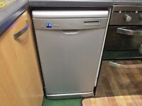 Dishwasher-Logic,Grey-silver,Size-High-85 cm,Wide-45 cm,Deep-57 cm,In good working order