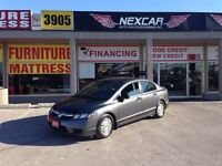 2010 Honda Civic DX-G 5 SPEED A/C CRUISE CONTROL ONLY 101K