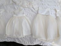 4 Bridesmaid / flower girl dresses