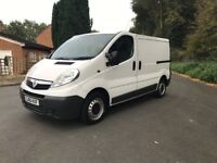 Very clean 2010 Vauxhall Vivaro with long mot