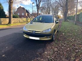 Peugeot 206SW 1.4 Estate LOW MILES