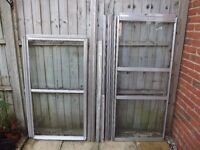 Lean-to Aluminium Greenhouse - 4ft x 2ft - Dismantled and Ready to Collect