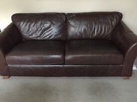 Marks and Spencer Abbey Large 2 Seater Leather sofa