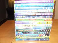 Huge Job Lot of Childrens DVDs