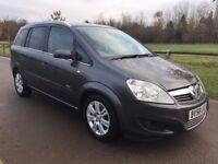 2008 Vauxhall Zafira Design Cdti Turbo diesel 7 seater mpv 6 speed Full service history