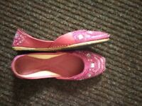 Pink women Asian shoes