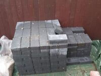212 Bradston Charcoal Driveway Blocks unused
