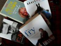 4 GREAT AUTOBIOGRAPHIES FOR SALE
