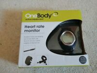 One-body Heart Rate Monitor Watch Brand New In Box need battery