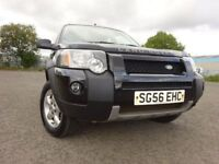 56 LAND ROVER FREELANDER ADVENTURER TD 2.0 DIESEL 4X4,MOT MARCH 019,1 OWNER ,FULL HISTORY,2 KEYS