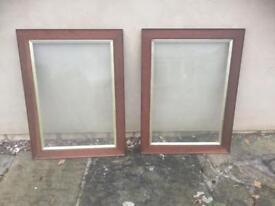 Oak antique picture frames