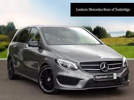 Mercedes-Benz B Class B 200 D AMG LINE PREMIUM PLUS (grey) 2016-05-04