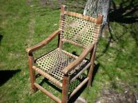 Chaise Artisanale...LONGUEUIL