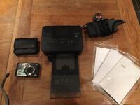 Digital camera & Canon Selphy Photo Printer