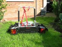 tow ball mounted cycle carrier