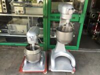 SERVICED TALL BOY HOBART 20 LT MIXER CATERING COMMERCIAL KITCHEN TAKE AWAY SHOP PIZZA BAKERY