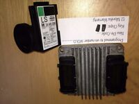 VAUXHALL ASTRA TWINPORT ENGINE ECU 12211330 DWWD HSFI-2.4 DELPHI